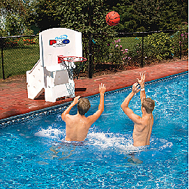 Cool Jam Pro Poolside Basketball Hoop