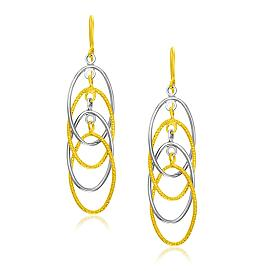 Multiple Layer Interlaced Earrings