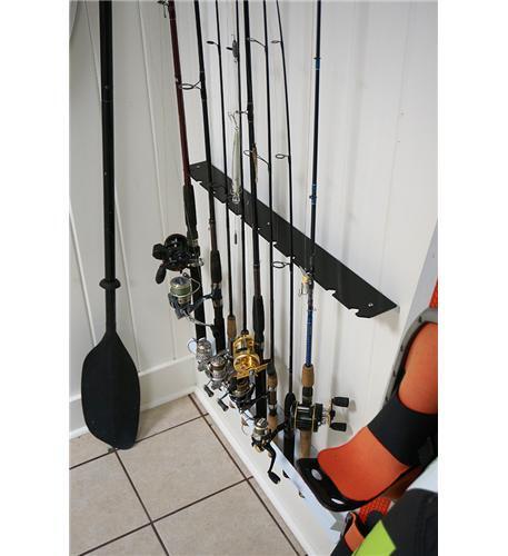 Wall Mount Fishing Rod Holder