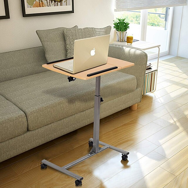 Laptop Desk With Stand Holder And Wheels